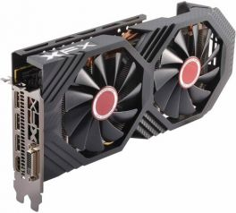 RX-580P8DFD6 | XFXforce Radeon RX 580 GTS XXX Edition 8GB GDDR5, 1386MHz OC+ VR Ready Dual BIOS AMD Graphics Card