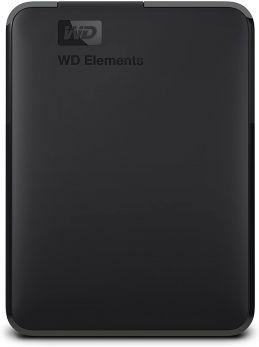 WDBU6Y0020BBK-WESN | Western Digital Elements 2TB USB 3.0 Portable External Hard Drive